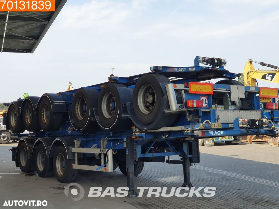 Lag Package of 3 3 axles ADR 1x 20 ft 1x30 ft - 3