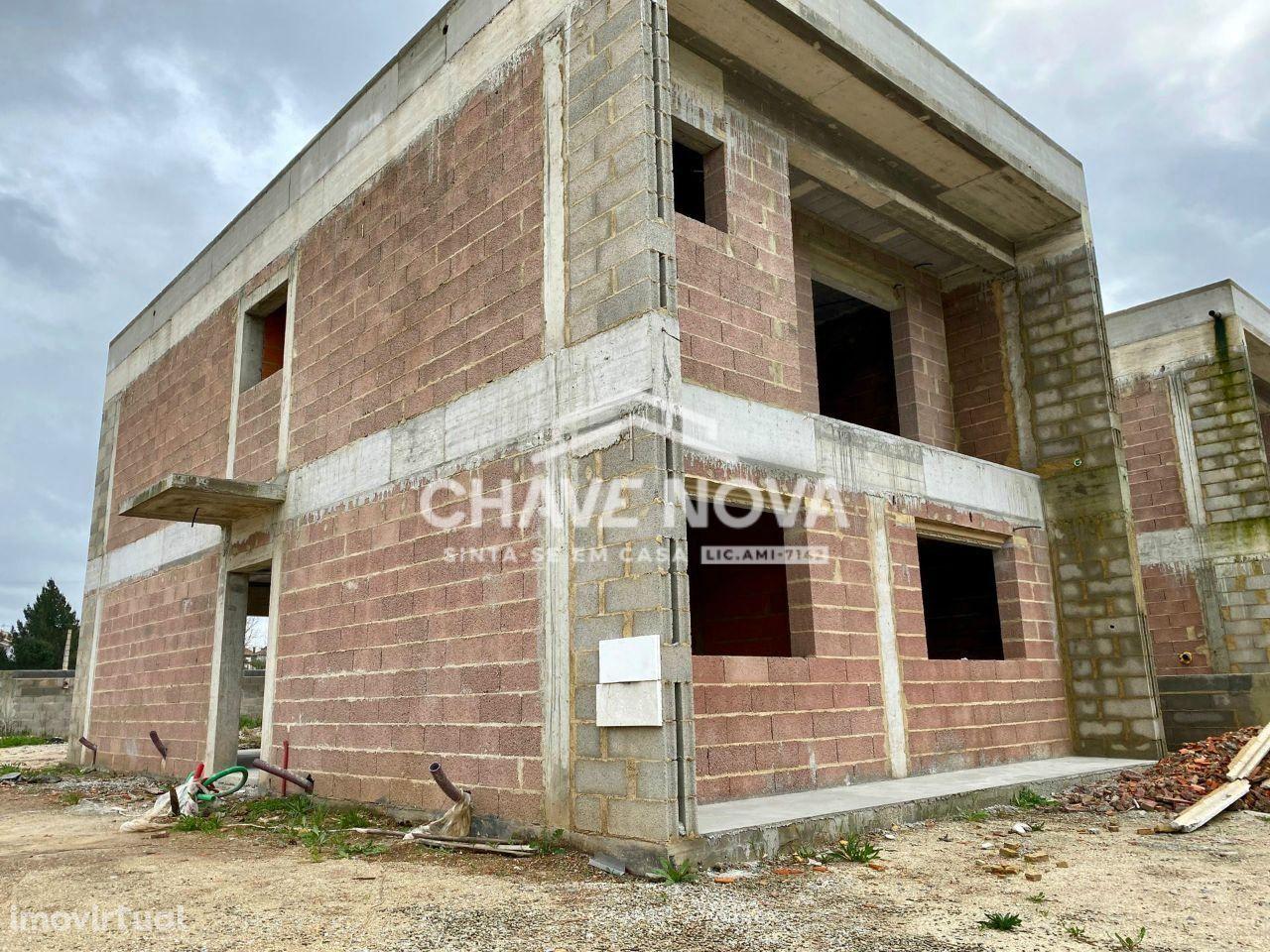 Moradia Geminada de 3 Quartos em construção em Albergaria-a-velha