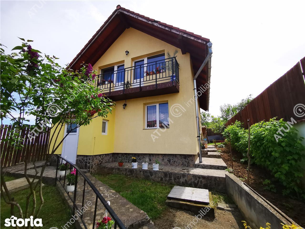 Se vinde casa constructie 2010 cu 3 camere in Saliste jud Sibiu