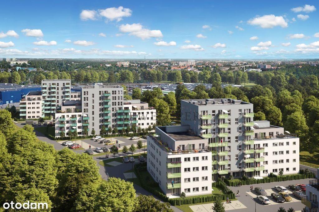 Nowe osiedle - bliskość centrum - zielono