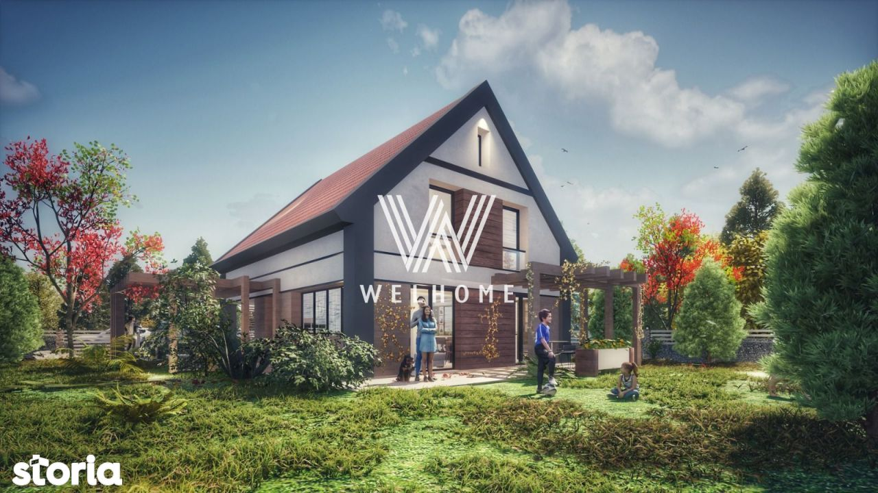 Casa individuala 4 camere, teren 470 mp - in Talmaciu Sibiu