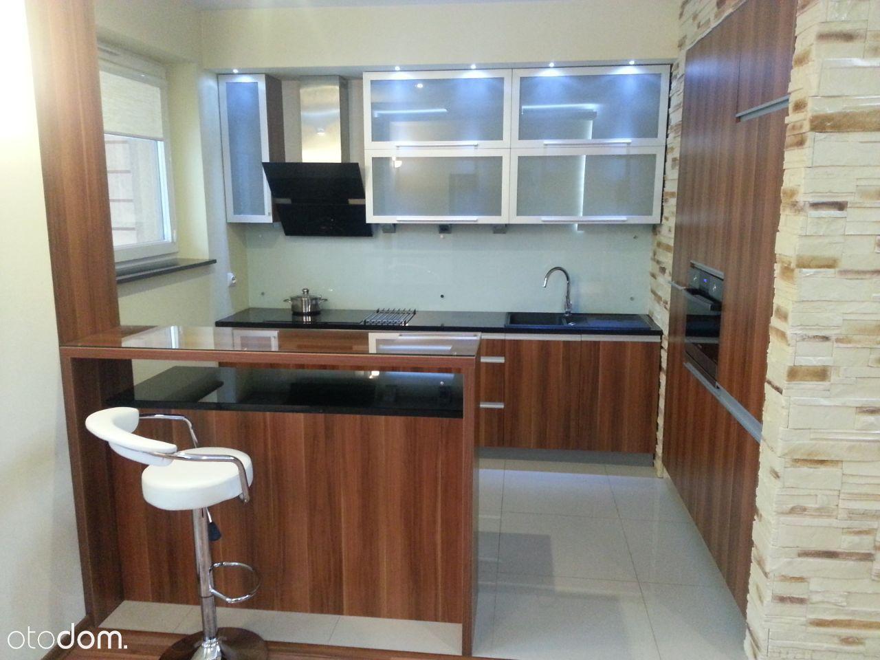 Mieszkanie - 58 m², 2 pokoje, podziemny parking