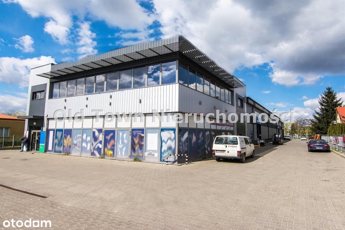 Obiekt magazynowo biurowy 1350 m2 Lublin