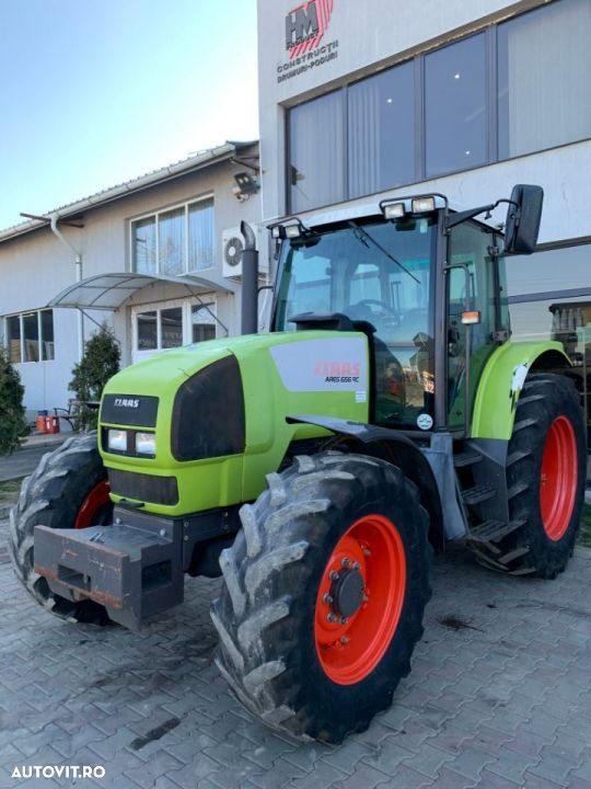 Claas Tractor Class Ares 656 RC 132 Cp  fab 2007 - 25