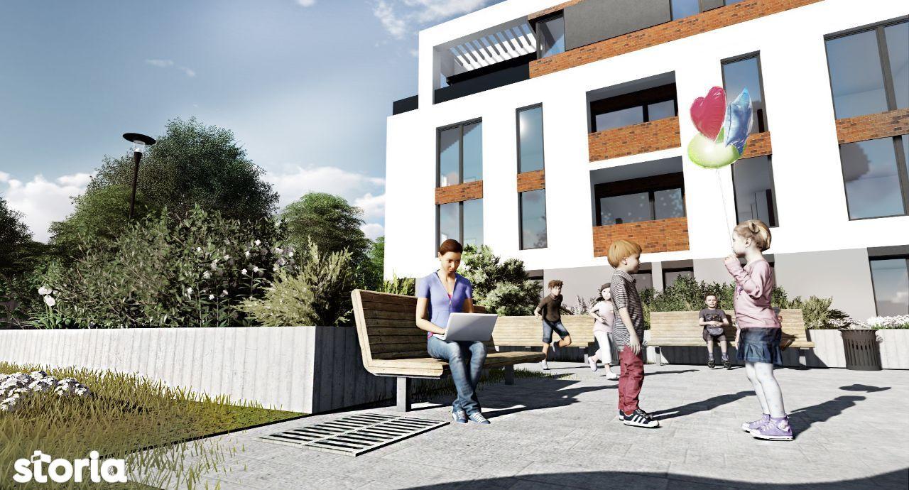 Dezvoltator, vând apartament cu 3 camere, în cartierul Mărăști