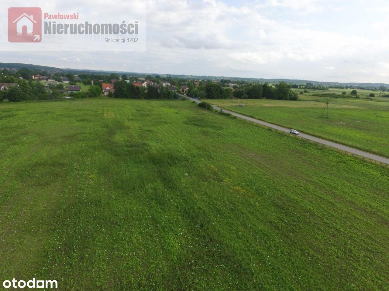 Działki budowlane 10 km od Skawiny- różne powierzc