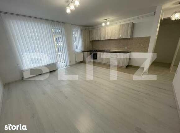 Apartament cu 2 camere, etaj intermediar, finisat, zona Petrom