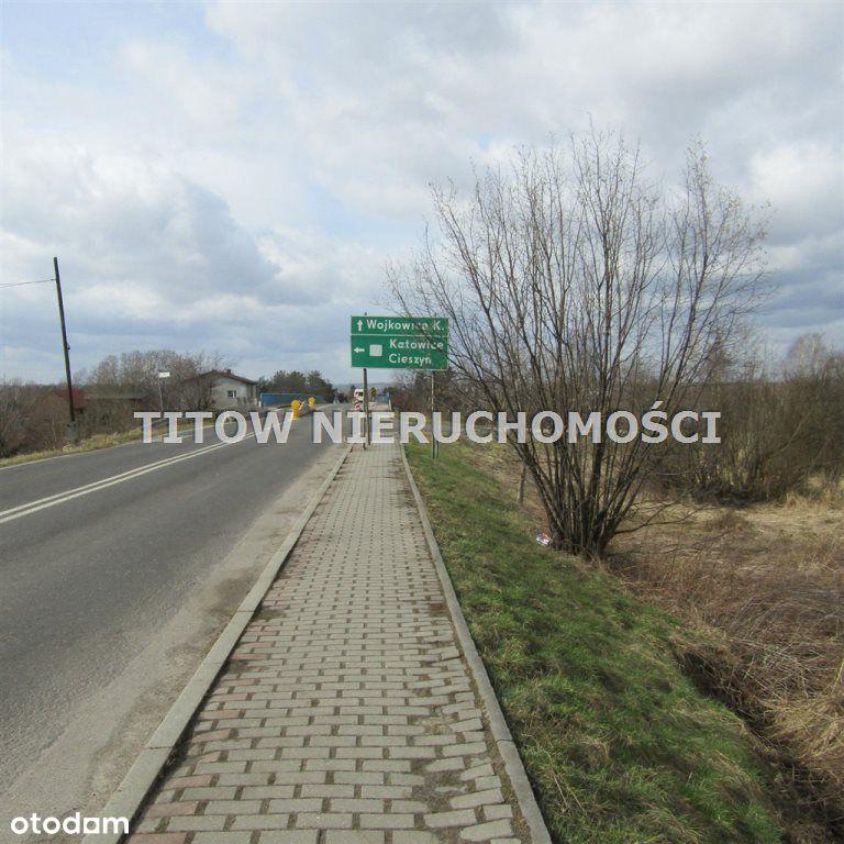 Dąbrowa Górnicza Ujejsce działka 3876 m2 sprzedam