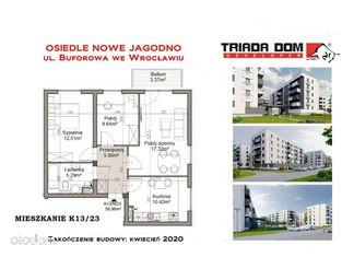 OKAZJA gotowe mieszkanie 54 m2 + balkon K12/14