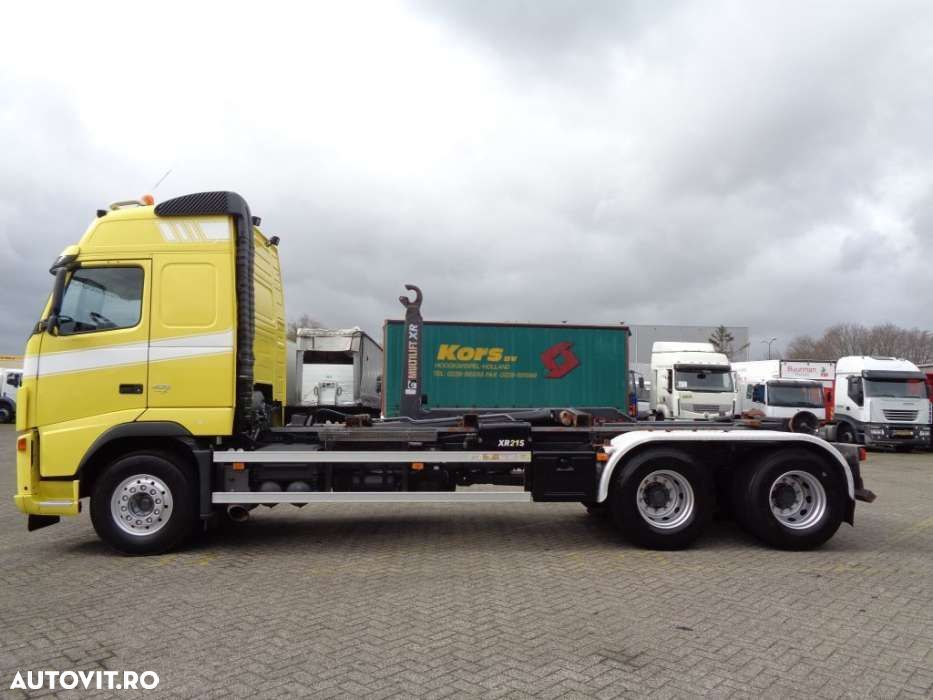 Volvo FH 400 + Euro 5 + 10 tyres + Hook system - 10