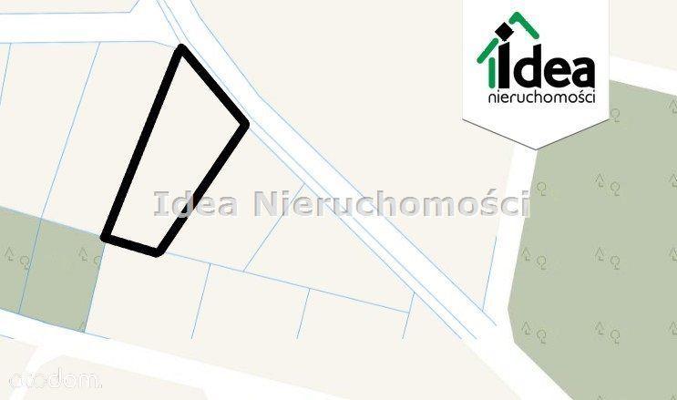 Działka, 1 447 m², Prądki