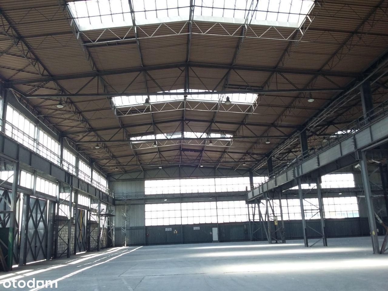 hala produkcyjna 2000 m z suwnicą