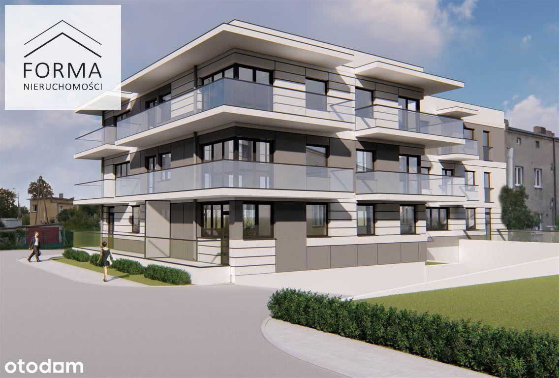3 pokojowe mieszkanie w nowym bloku 59,39 m2