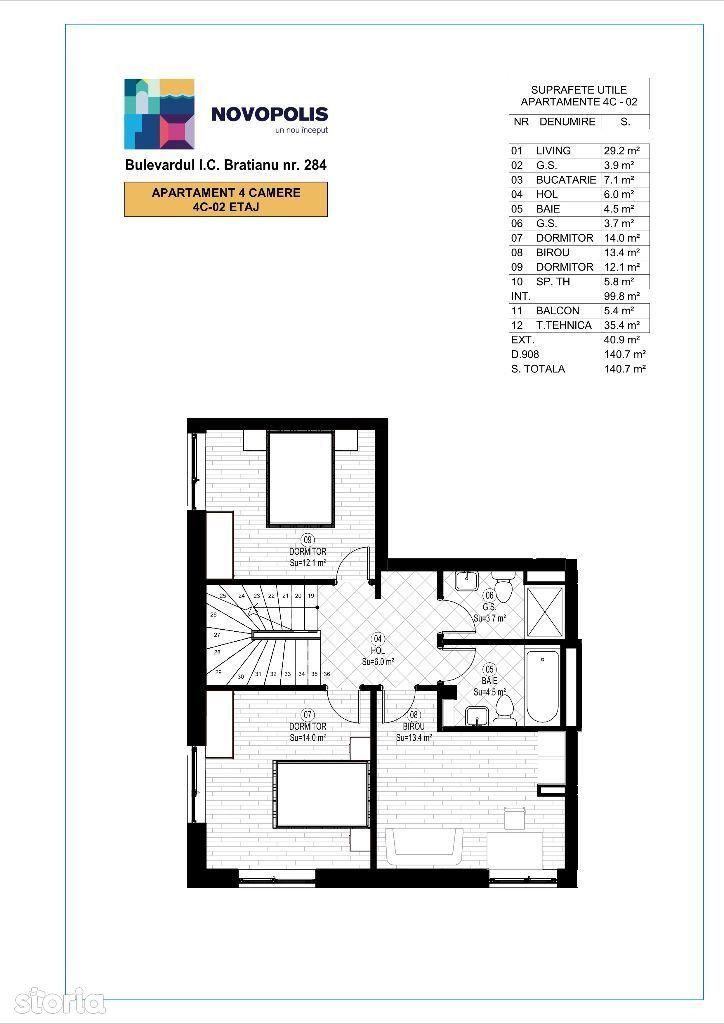 OFERTA duplex 4 camere