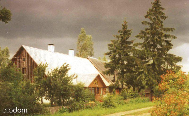Dom dworek modrzewiowy na 13800 m2