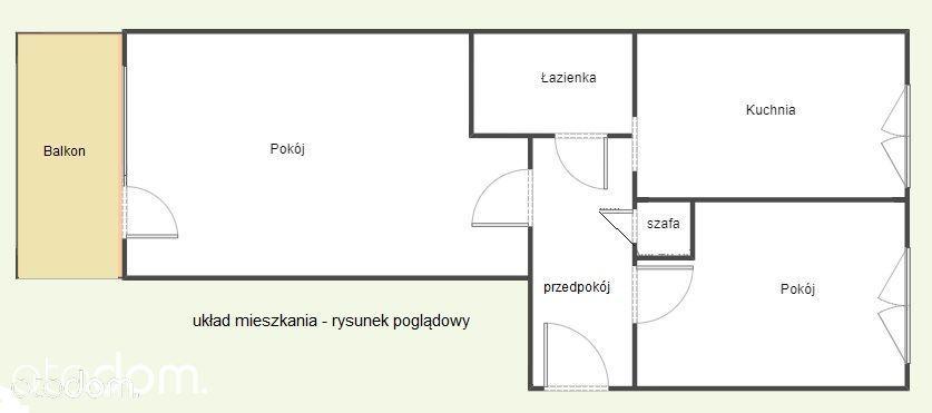 Sprzedam bezczynszowe mieszkanie na Zalesiu.