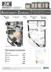 Nieduże mieszkanie 2-pokojowe- 40 m2