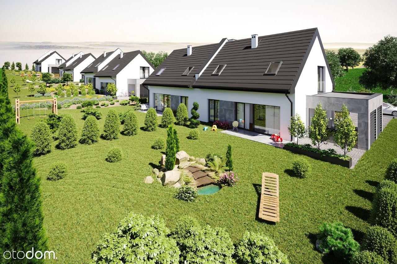 Nowy dom 122m2, Zabierzów, duży ogród