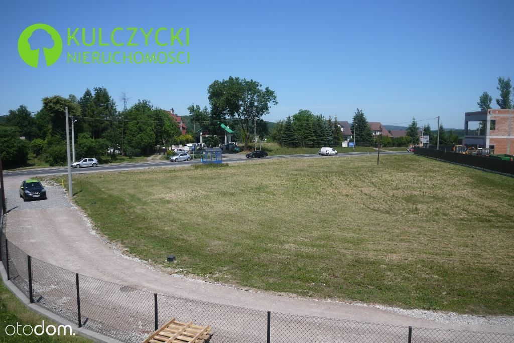 Działka, 1 400 m², Skawina
