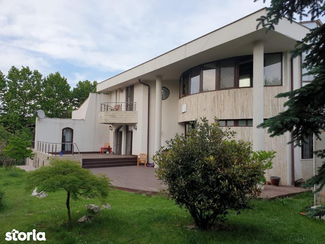 PIPERA-Bulevard adiacent vila individuala- Curte Libera 1500 MP