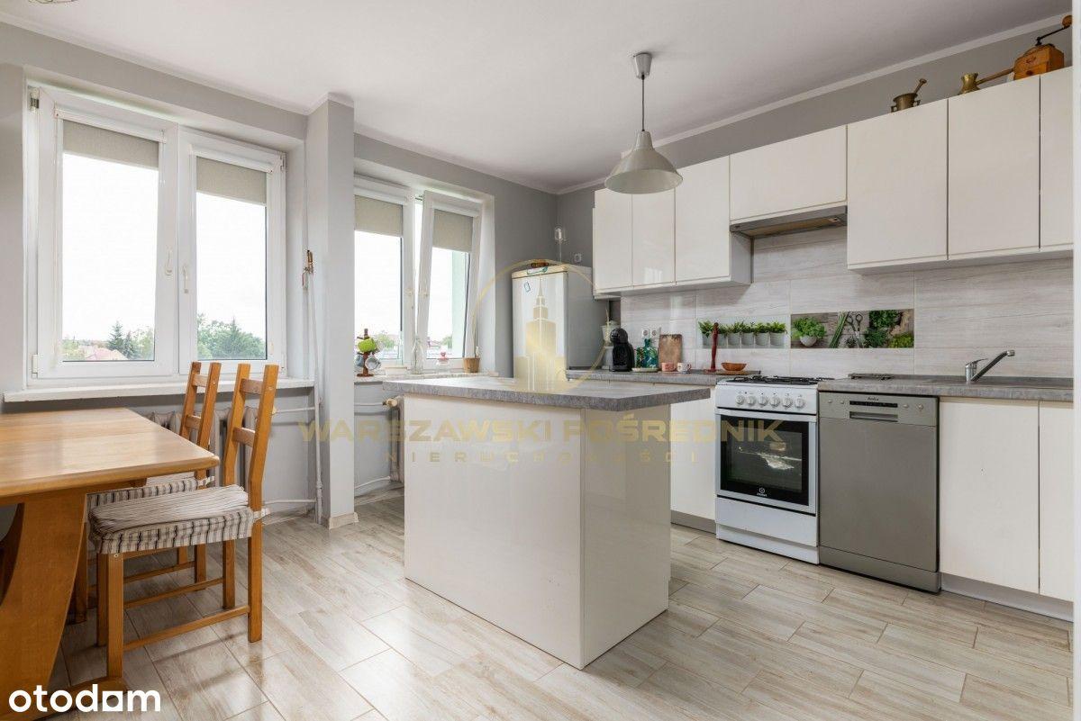 Kompaktowe, dwa pokoje z dużą kuchnią i jadalnią