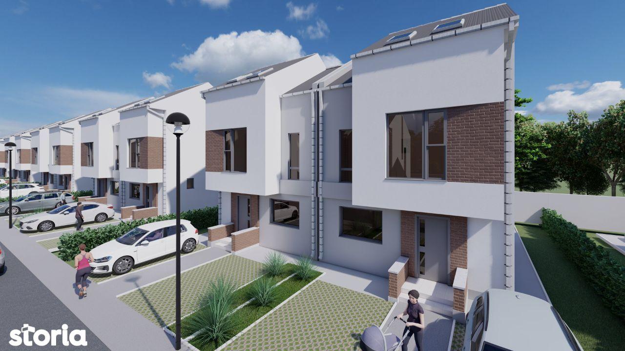 DOXA Gardens Residence - vile cu stil - cu mutare imediat
