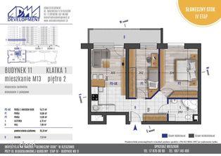 3 - pokojowe mieszkanie M13