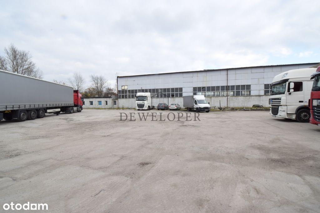 Plac przemysłowy utwardzony 6500m2 Katowice