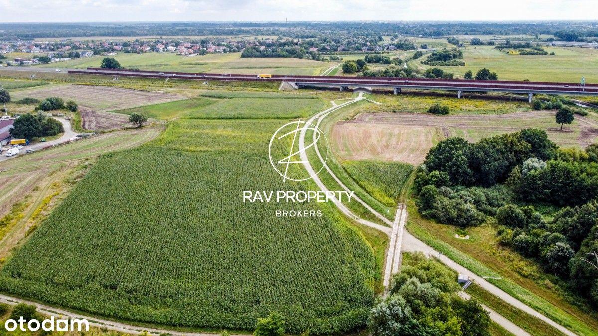 Na sprzedaż grunt o powierzchni 3986 m2, Psary
