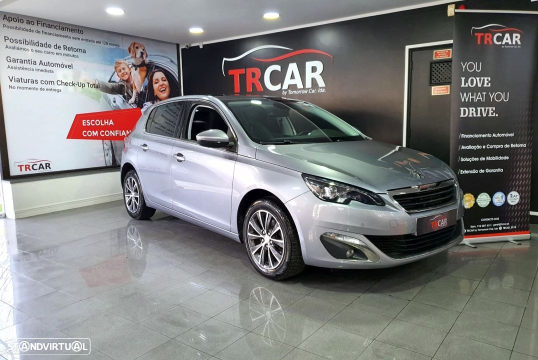Peugeot 308 1.6 BlueHDi Allure J17 EAT6 - 36