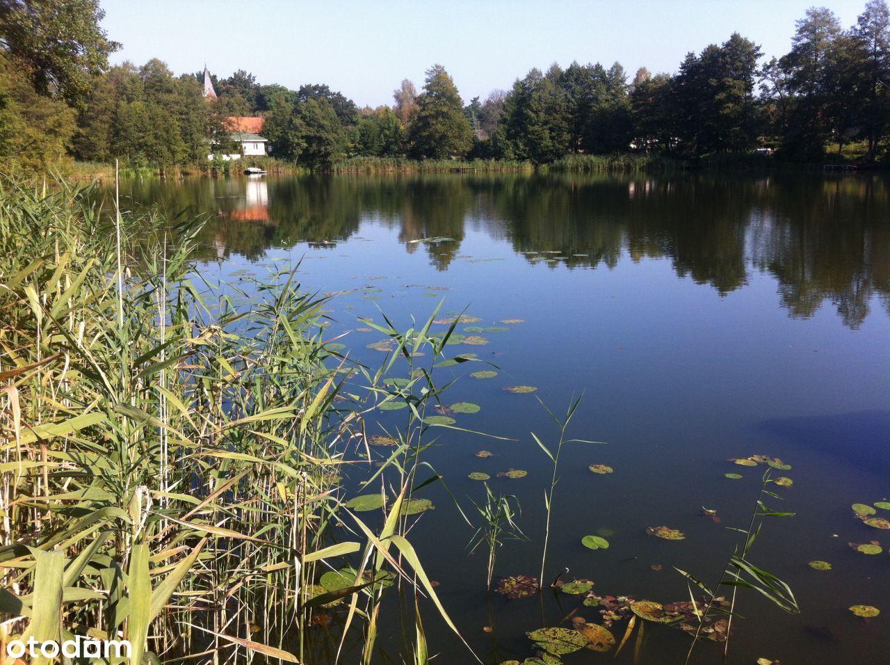Działka budowl.-Rudna(Gorzów25km)-blisko jeziorko!