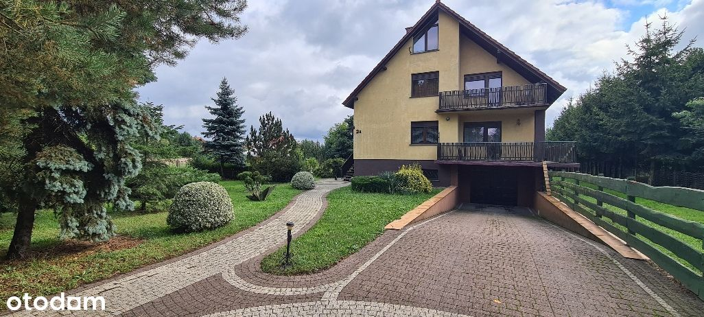 Dom + warsztat + duży ogród Jelcz Laskowice