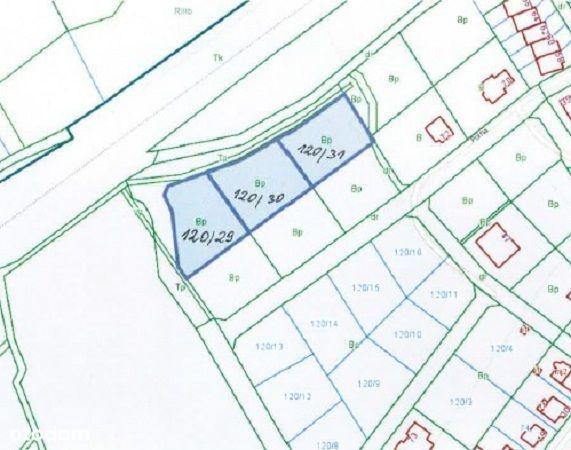 Działka, 1 143 m², Lubań