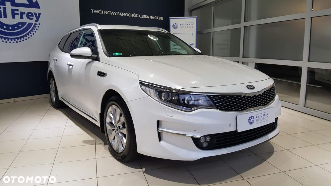 Kia Optima 1.7 Faktura VAT 23% Emil Frey Select - 1
