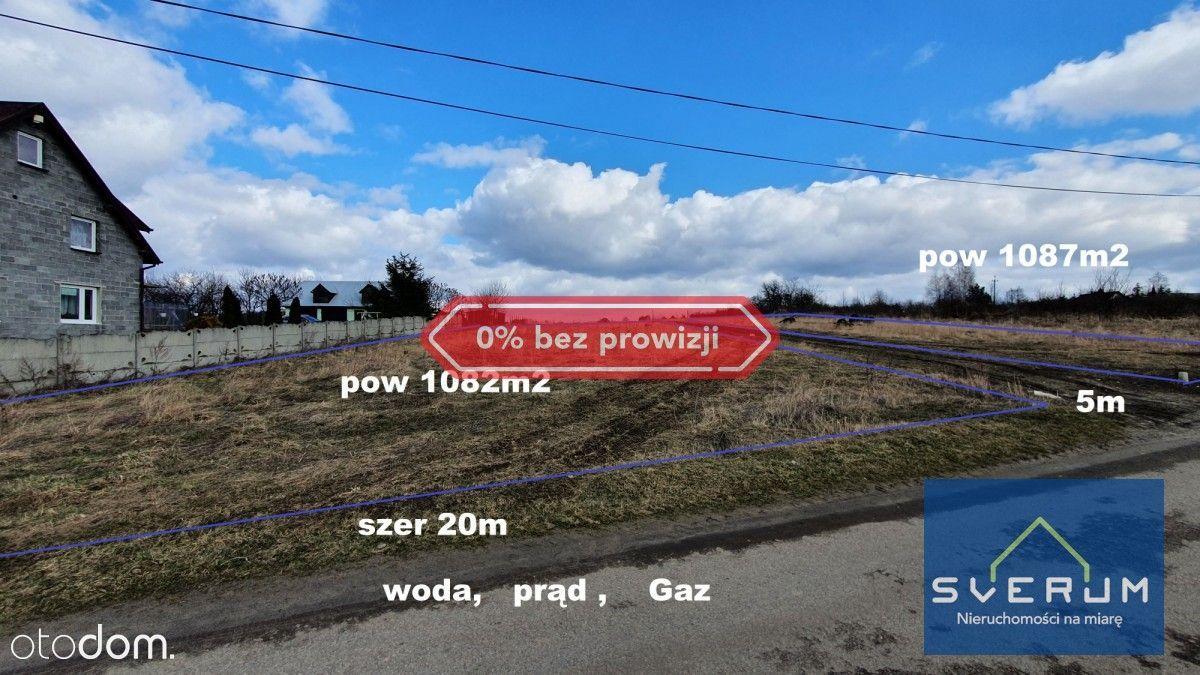 Działak budowlana Przybynów Gmina Żarki