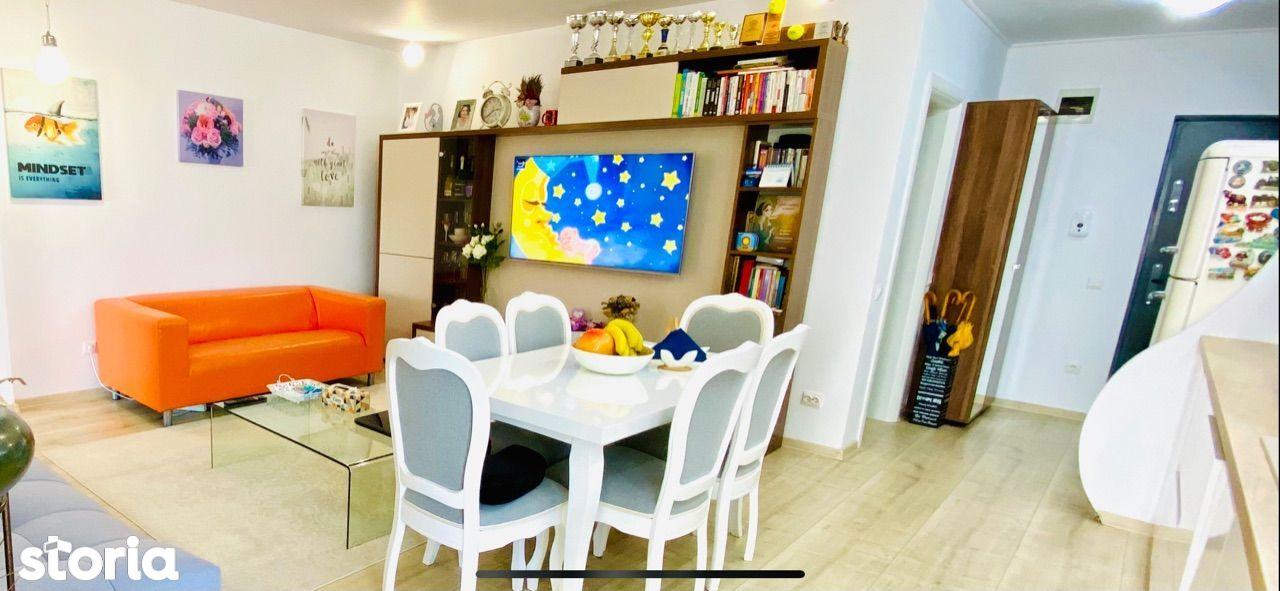 Proprietar vand apartament 3 camere la cheie in Buna Ziua