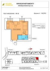 Mieszkanie nr 46 (Budynek A) SPRZEDANE
