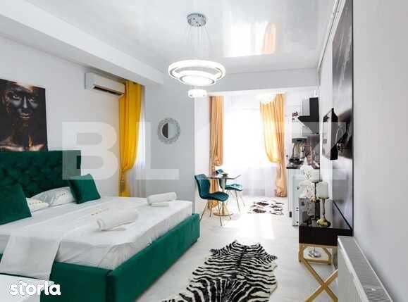 Studio de lux, 40 mp, prima inchiriere, Stefan Building, Mamaia Nord