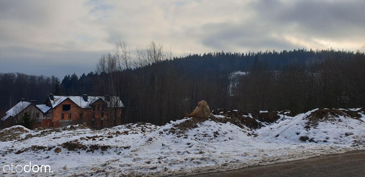 Działka Bud.w Szklarskiej + Pozwolenie na budowę