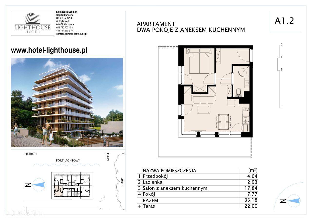 Lighthouse Hotel - Mrzeżyno - Apartament A 1.2