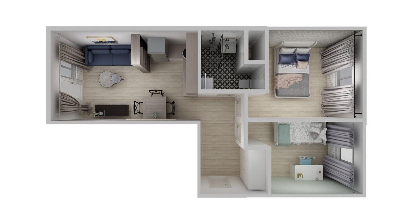 Warszawszka 3 pokoje po remoncie