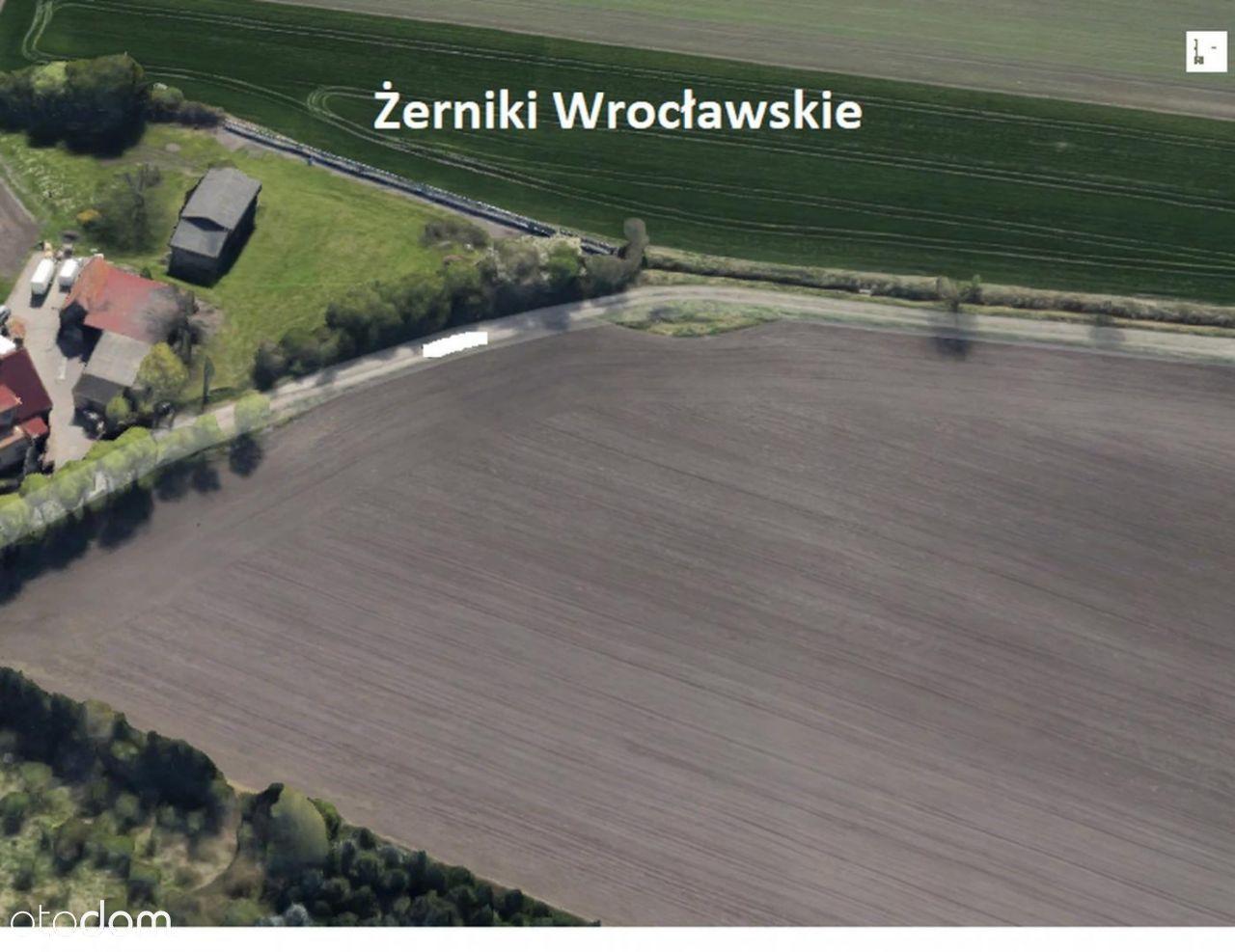 Działka budowlana Żerniki Wr.