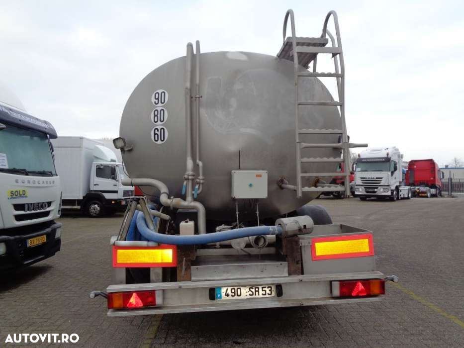 Trailor Milk/Water tank 2 COMP + 2 AXLE + ADR+25000liter - 6
