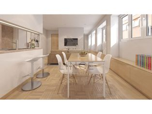 Apartamento T0 Príncipe Real - Piso 0 com 40,74 m2