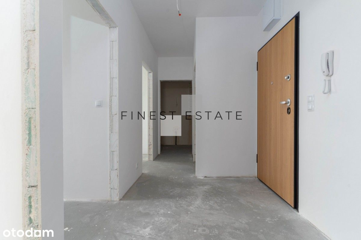 3 Pokojowe | 59,70 m2 | Do wykończenia