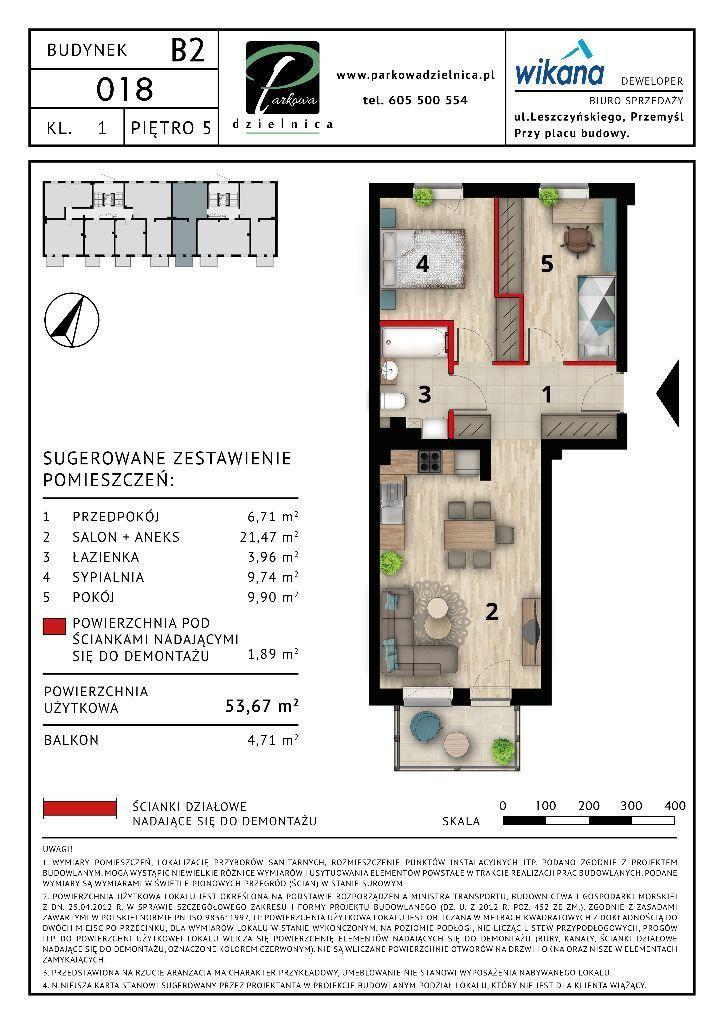 Mieszkanie nr 16 Budynek B2