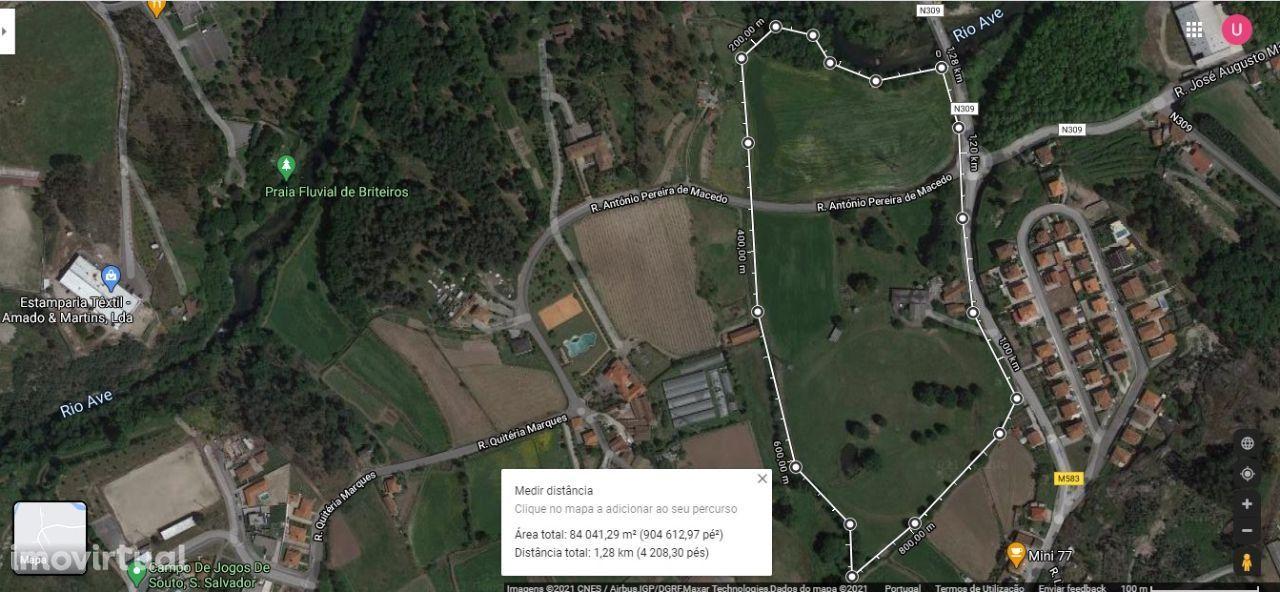 Terreno com 4 hectares em Guimarães Souto são salvador
