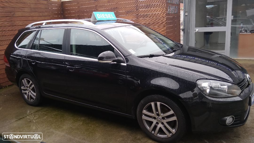 VW Golf Variant 1.6 TDi BlueMotion Confortline - 3