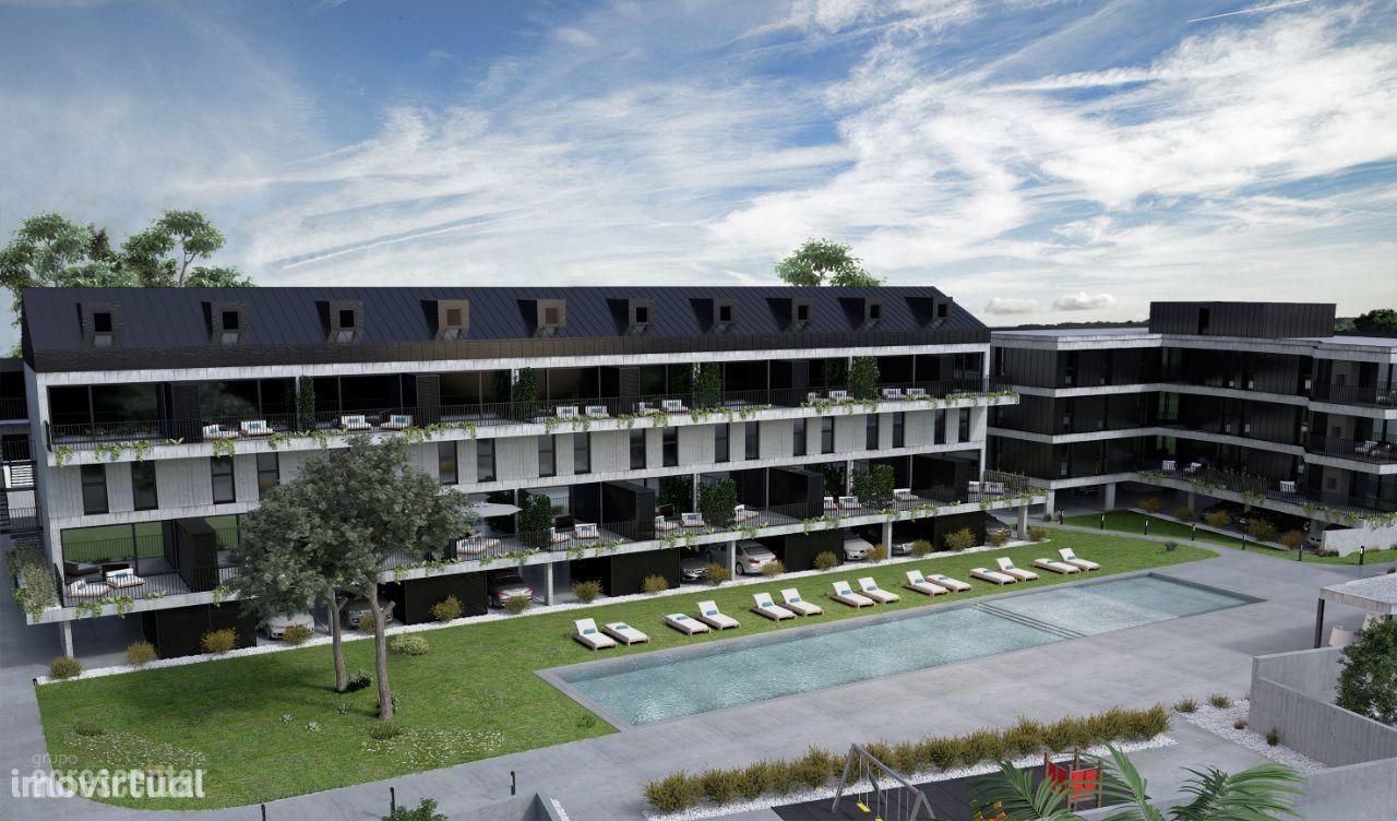 Apartamentos T2 Novos em Condomínio de Luxo - Ofir