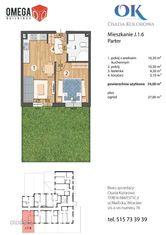 Nowe Mieszkanie | 2 pokoje + ogródek | Maślice